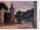 Widok kościoła ewangelickiego na malarskiej pocztówce W. Szulca z okresu międzywojennego
